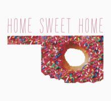 Home Sweet Home Oklahoma Donut by nineonestate