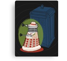 Daleks in Disguise - Fifth Doctor Canvas Print