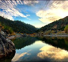 "American River ""The Last Light"" by ffgphotos"