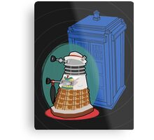 Daleks in Disguise - Seventh Doctor Metal Print