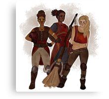 Gryffindor Quidditch Ladies Canvas Print