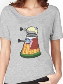 Daleks in Disguise - Sixth Doctor Women's Relaxed Fit T-Shirt