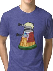 Daleks in Disguise - Sixth Doctor Tri-blend T-Shirt