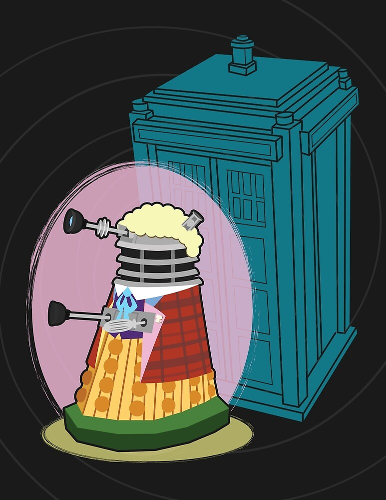 Daleks in Disguise - Sixth Doctor by murphypop