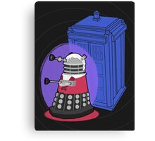 Daleks in Disguise - Third Doctor Canvas Print