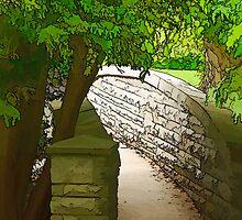 A stroll across by Tracey  Dryka