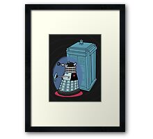 Daleks in Disguise - Second Doctor Framed Print