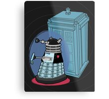 Daleks in Disguise - Second Doctor Metal Print