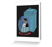 Daleks in Disguise - Second Doctor Greeting Card
