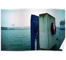 Kiel harbor Poster