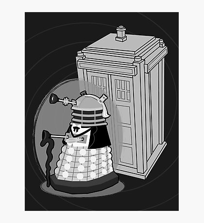 Daleks in Disguise - First Doctor Photographic Print