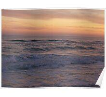 Orange Beach Sunset 2 Poster