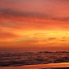 Orange Beach Sunset 4 by bugboobunz