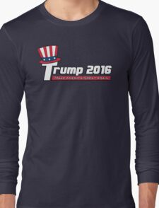 Donald Trump For President 2016 Long Sleeve T-Shirt