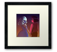 Garnet's Fury and Patience Framed Print
