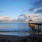 'Brighton Jetty', SA by Luke Weinel