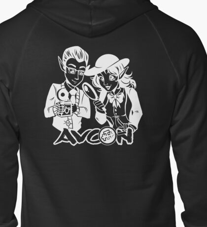 AVCon 2015 Official Alternate Design Zipped Hoodie