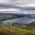 View of Loch Rannoch from Craig Varr by Paul  Gibb