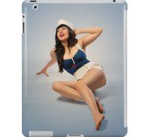 Naval Sailor Pinup Girl  iPad Case/Skin
