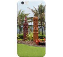 *•.¸♥♥¸.•* .(。◕‿◕。)Hawaiian Garden Statues*•.¸♥♥¸.•* .(。◕‿◕。) iPhone Case/Skin