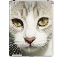 Innocence in my little girl's eyes iPad Case/Skin