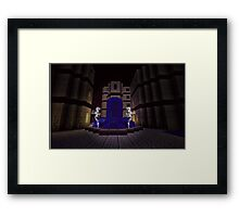 WATER FORTRESS FOUNTAIN  Framed Print