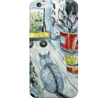 ziggy on the deck iPhone Case/Skin