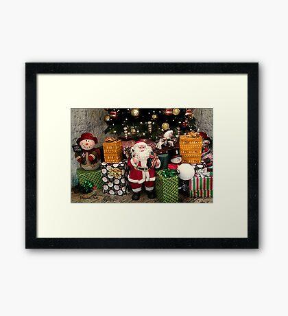Ho Ho Ho ~ Christmas Fun! Framed Print