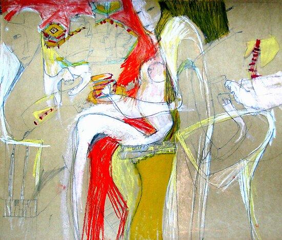 tea party by Shylie Edwards
