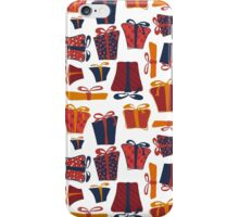 gifts, box, bow, tape iPhone Case/Skin