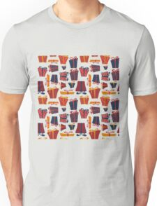 gifts, box, bow, tape Unisex T-Shirt