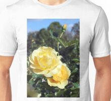 Yellow roses Unisex T-Shirt