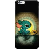 stitch and turtle iPhone Case/Skin