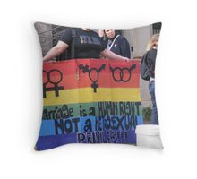 Rights Throw Pillow