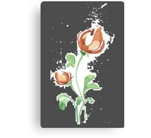 flowers. roses. flower happiness Canvas Print