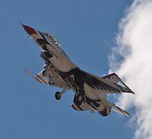USAF Thunderbird #6 Returns by Henry Plumley