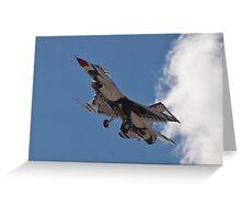 USAF Thunderbird #6 Returns Greeting Card