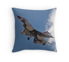 USAF Thunderbird #6 Returns Throw Pillow