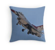 USAF Thunderbird #4 Throw Pillow