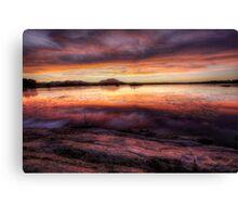 Sunset Inbetween Canvas Print