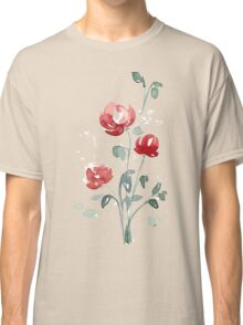 flowers. roses. flower happiness Classic T-Shirt