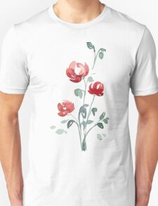 flowers. roses. flower happiness Unisex T-Shirt