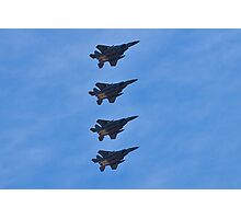 F-15 Strike Eagle squadron Photographic Print