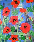 Vibrant Poppies by Alexandra Felgate