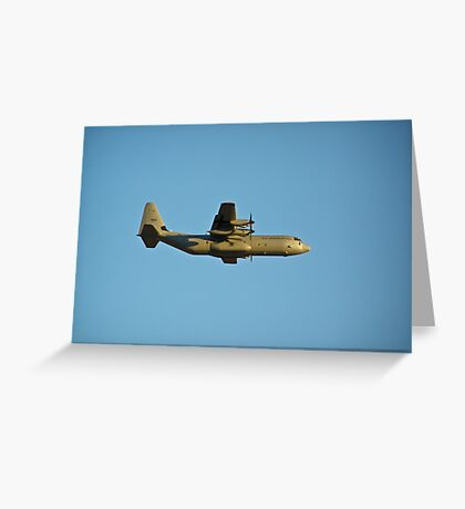 A Royal Norwegian Air Force C-130 Hercules Greeting Card