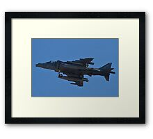 AV8B Harrier empty Framed Print
