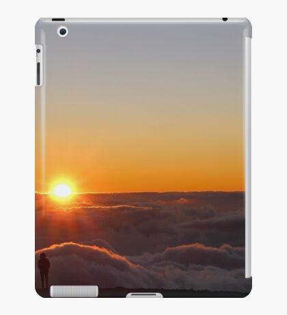 Sunset on the top of Haleakala volcano iPad Case/Skin