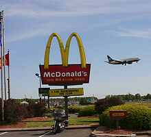 McDonald's Fly Through by Mike Pascuzzi