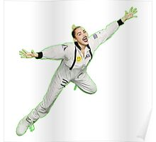 Miley Cyrus Flying !  Poster