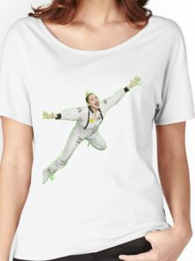Miley Cyrus Flying !  Women's Relaxed Fit T-Shirt